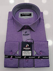 Рубашка Passero slim оксфорд