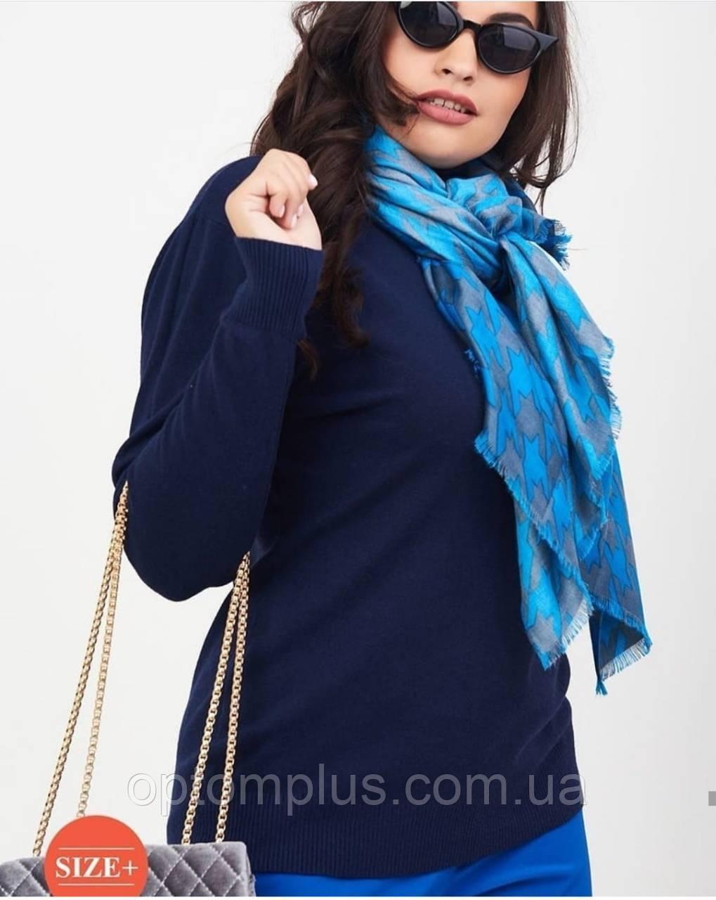 """Гольфи """"База"""" горло з відворотом, середньої щільності жіночі батал (50-56) купити оптом від складу 7 км"""