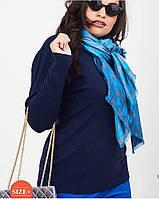 """Гольфи """"База"""" горло з відворотом, середньої щільності жіночі батал (50-56) купити оптом від складу 7 км, фото 1"""