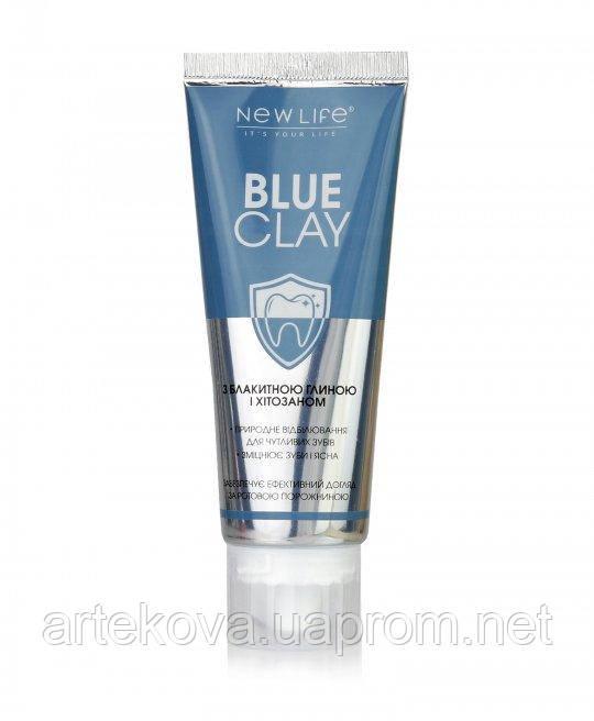 Зубная паста с голубой глиной