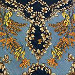 Рябина 352-27, павлопосадский платок шерстяной  с шерстяной бахромой, фото 9