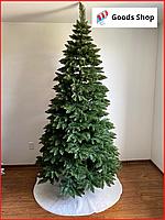 Елка искусственная зеленая 1м 100см Сказка новогодняя пышная Ель праздничная Ялинка штучна зелена пвх