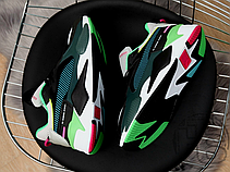 Мужские кроссовки Puma RS-X Toys Black/Blue Atoll 369449-01, фото 3