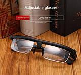 Универсальные очки для зрения Dial Vision с регулировкой линз от -6 до +3 (Живые фото), фото 7