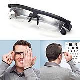 Универсальные очки для зрения Dial Vision с регулировкой линз от -6 до +3 (Живые фото), фото 5