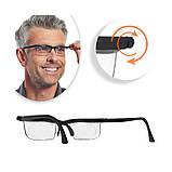 Универсальные очки для зрения Dial Vision с регулировкой линз от -6 до +3 (Живые фото), фото 4