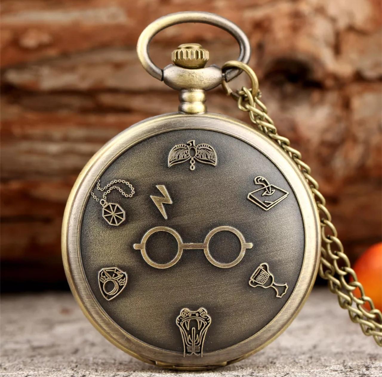 Мужские часы карманные на цепочке Гарри Поттер