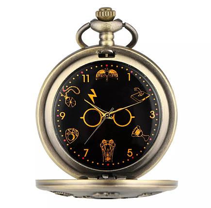 Мужские часы карманные на цепочке Гарри Поттер, фото 2