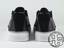 Жіночі кеди Puma Clyde Stitched x Han Kjøbenhavn Black/White, фото 2