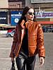 Крута куртка еко шкіра,утеплювач-синтепон 200. Розмір:42-46. Різні кольори (100 ), фото 3