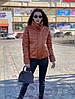 Крута куртка еко шкіра,утеплювач-синтепон 200. Розмір:42-46. Різні кольори (100 ), фото 4