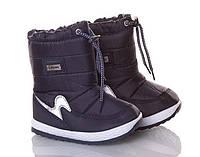 Дитячі зимові чобітки Libang р27-17,7см (код 9314-00) синий.
