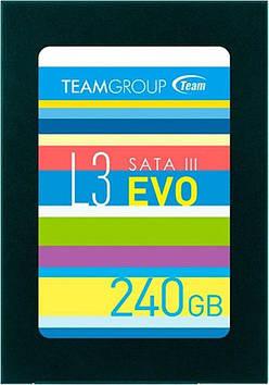 Накопичувач SSD 240GB Team L3 EVO SATAIII 2.5 TLC (T253LE240GTC101)
