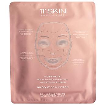 Маска для сияния и осветления кожи 111SKIN Rose Gold Brightening Facial Treatment Mask