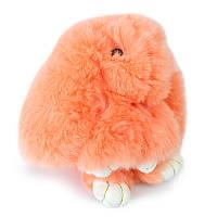 Брелок кролик из натурального меха 15-18 см Rex Fendi 129765