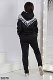 Женский спортивный костюм с леопардовым принтом р. 54, 56, фото 2