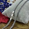 Серебряная цепочка с чернением Бисмарк классический длина 45 см ширина 3.5 мм вес 8.7 г , фото 4