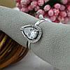 Серебряное кольцо Лана размер 17 вставка белые фианиты вес 2.22 г, фото 3