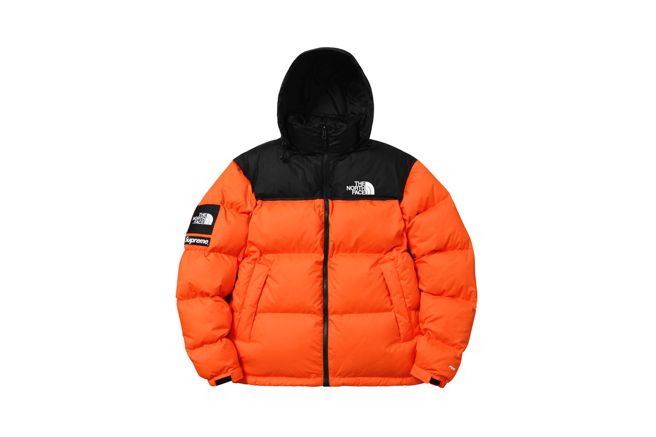 Пуховик The North Face Nuptse 700 Orange