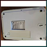 Электронные кухонные весы до 5 кг SF-400A с подсветкой + батарейки, фото 3