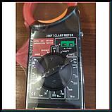 Профессиональный мультиметр тестер + токоизмерительные клещи DT 266 FT, фото 2