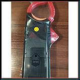 Профессиональный мультиметр тестер + токоизмерительные клещи DT 266 FT, фото 3