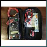 Профессиональный мультиметр тестер + токоизмерительные клещи DT 266 FT, фото 6