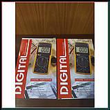 Профессиональный цифровой мультиметр тестер DT-9208 А, фото 3