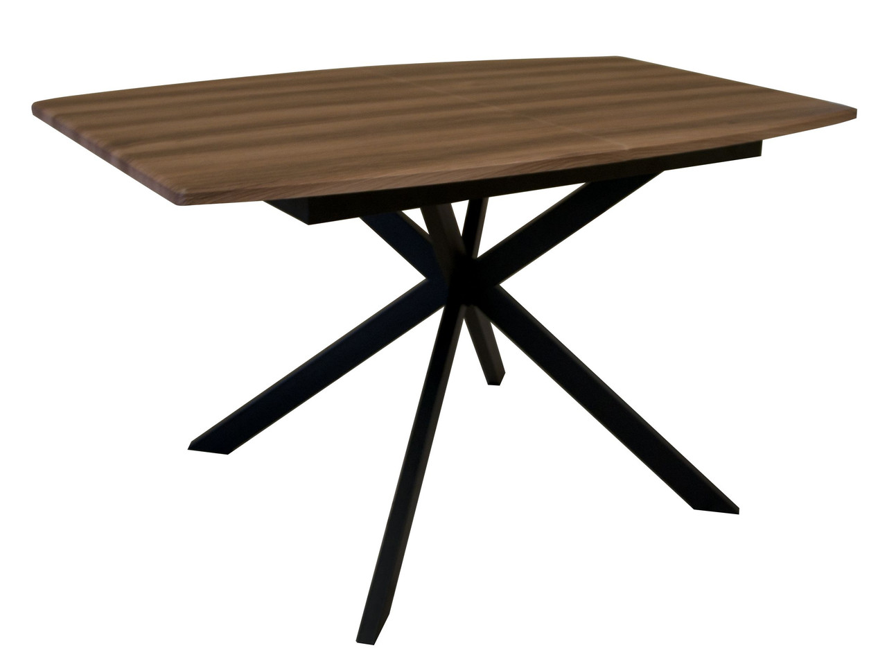 Стол EAGLE (E3612) Solere black/brown 1400(1800)х850
