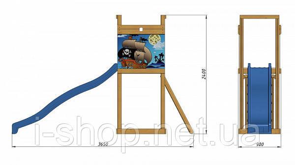 Детская площадка для улицы   SportBaby-2 SportBaby , фото 2