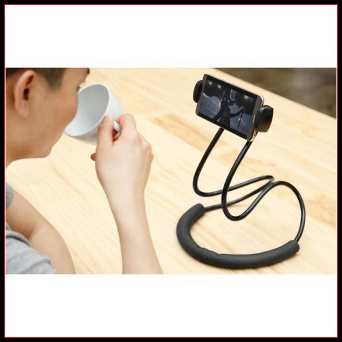 Мобильная подставка держатель для телефона на шею