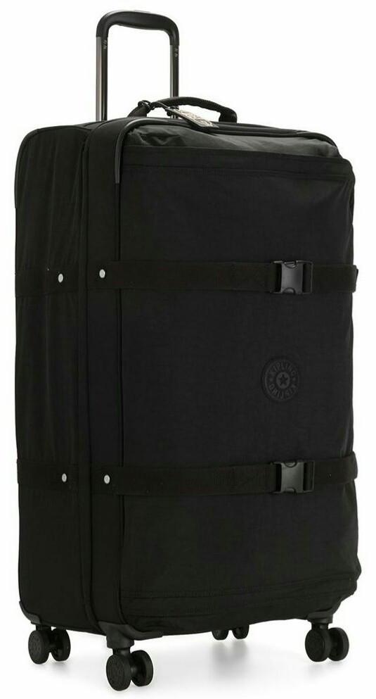 Тканевый чемодан большой Kipling Spontaneous черный на 101л