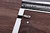"""Стол  раскладной 120/160 Helena черный/МДФ дуб шервуд ТМ """"AMF"""", фото 6"""