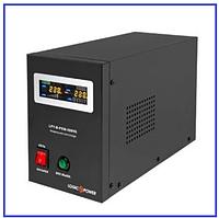 ИБП LPY-В-PSW 500VA+ (350Вт) 5А/10А 12V с правильной синусоидой, фото 1