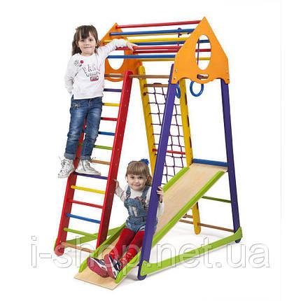 Детский спортивный комплекс BambinoWood Color  SportBaby , фото 2