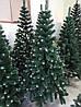 """Искусственная елка 1.3 м. с белыми кончиками """"Эко"""" с подставкой, фото 6"""