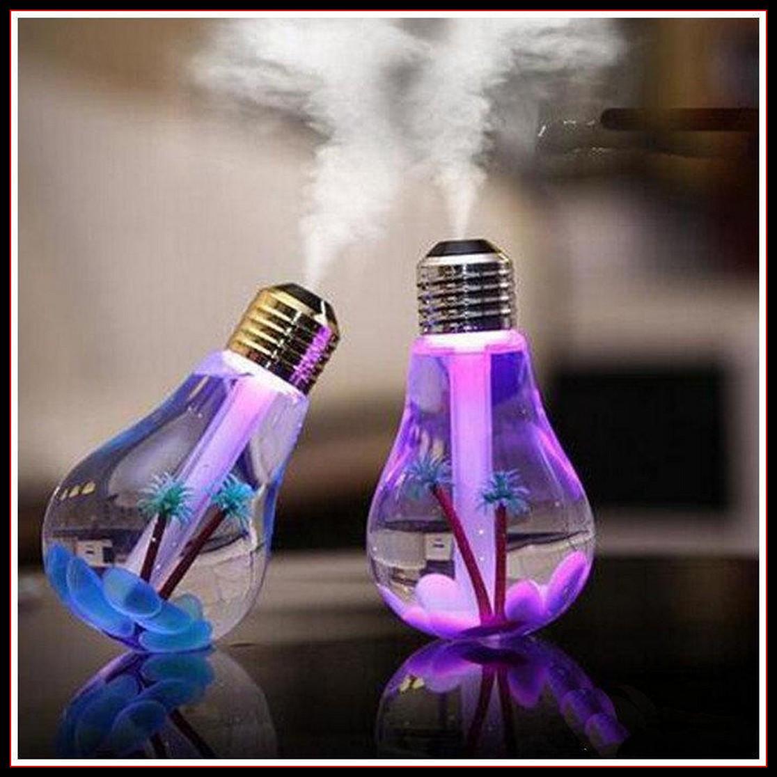 Увлажнитель воздуха ультразвуковой Лампочка для дома, офиса, салона