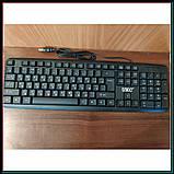 Классическая USB клавиатура для ПК, UKC KEYBOARD X1 K107, фото 6