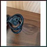 Кабель питания 3 pin для торговых весов, компьютеров, адаптеров и других электро приборов, фото 2