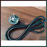 Кабель питания 3 pin для торговых весов, компьютеров, адаптеров и других электро приборов, фото 3