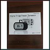 Компактный термометр Digital fridge freezer thermometer цифровой, фото 3