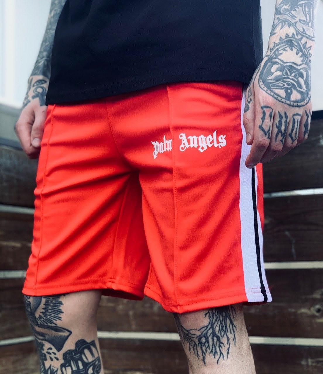 Шорты Palm Angels Classic Red ⏩ Наличие: (M)-1 (L)-1 (XL)-1 (XXL)-1