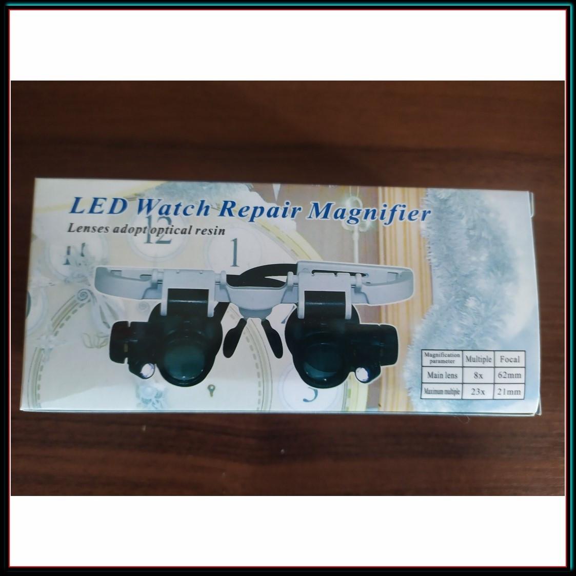 Бинокуляр очки бинокулярные со светодиодной подсветкой 9892-H1