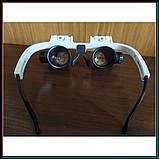 Бинокуляр очки бинокулярные со светодиодной подсветкой 9892-H1, фото 6