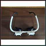Бинокуляр очки бинокулярные со светодиодной подсветкой 9892-H1, фото 7