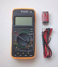 Мультиметр цифровий dt9205a з автовыключением, продзвонювання,амперметр,вольтметр