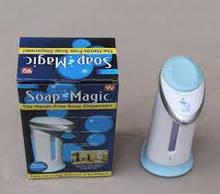 Сенсорна мильниця soap magic дозатор для мила автоматичний диспенсер