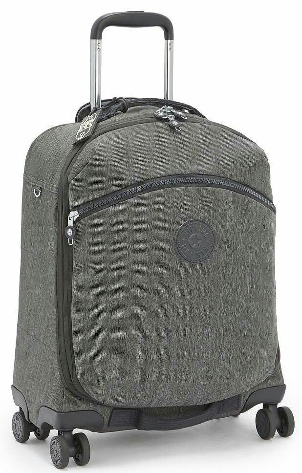 Малый тканевый чемодан Kipling Indilge серый на 46л