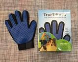 Перчатка для вычесывания шерсти true touch glove, фото 2