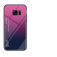 Чехол Samsung Galaxy S7 Gradient Hello